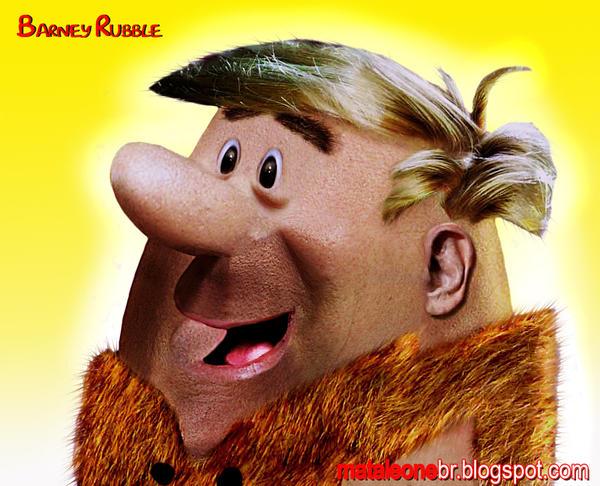 Barney Rubble Untooned