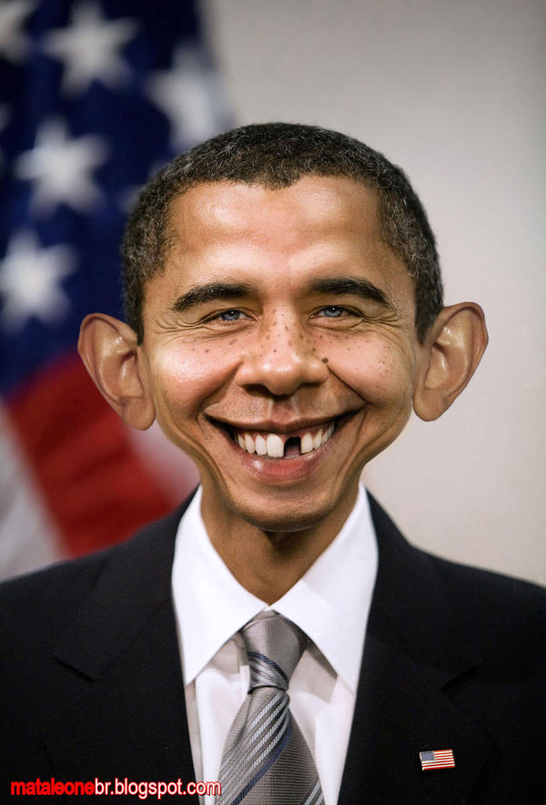 Alfred E. Obama by mataleoneRJ