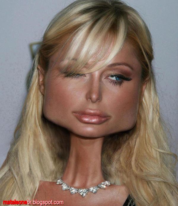 Paris Hilton Caricature