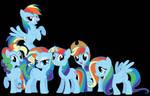 Mane 6 - Rainbowswap