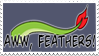 Aww, Feathers! -Stamp- by Pure-Escapism