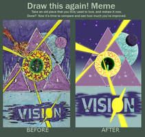 Before and After - Vision 1 - Invasion by reindertgroth