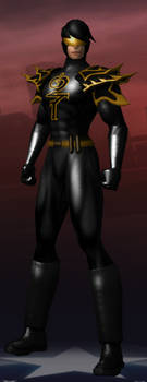 Dust Raven Hero by reindertgroth