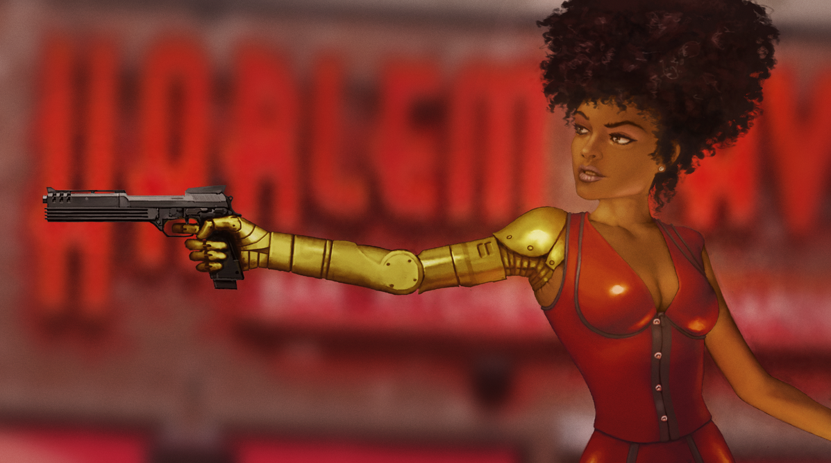 Misty Knight by SMitchinson