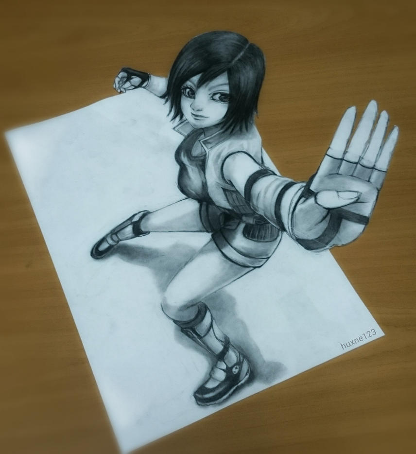 Asuka Kazama by huxne123