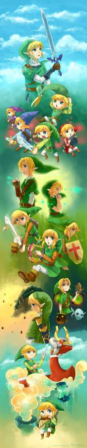 25 years of Legend of Zelda