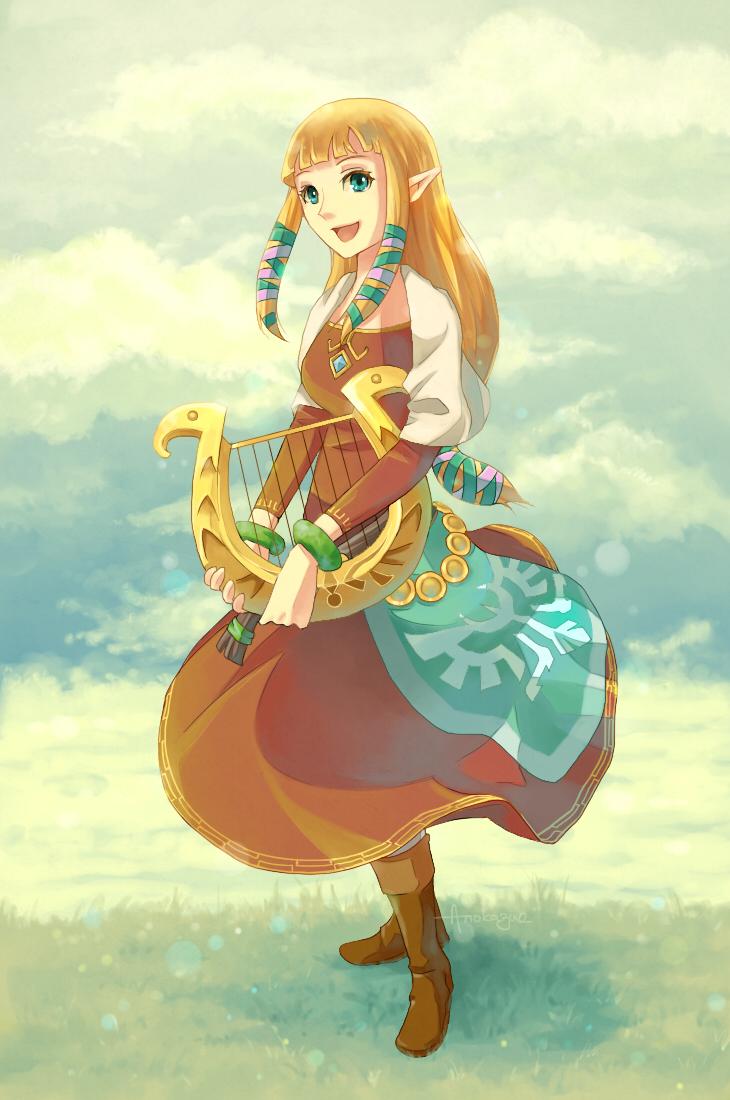 Zelda by anokazue