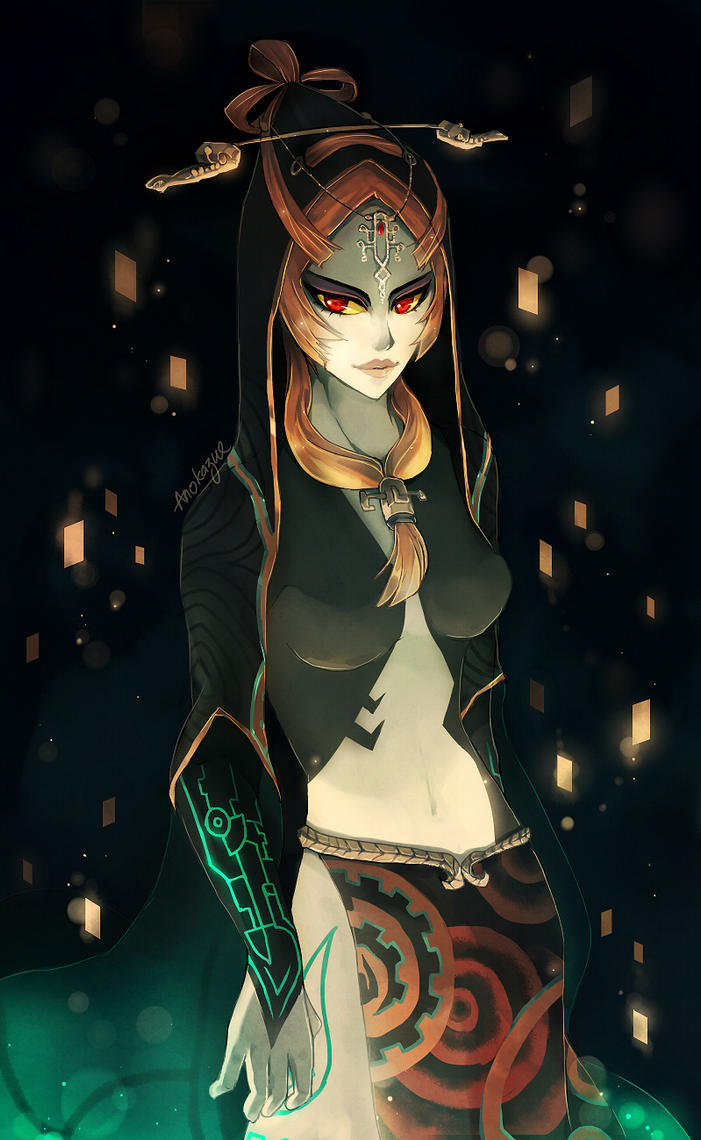 Midna by anokazue