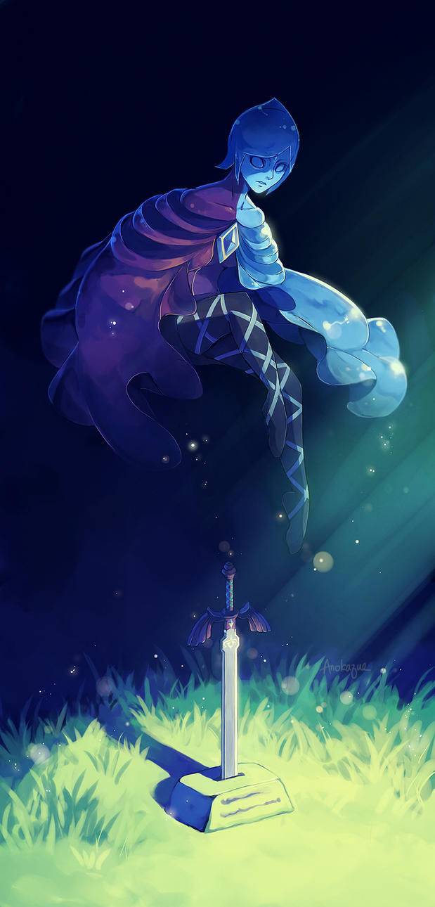 Sword Spirit by anokazue