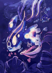 Kyogre by anocurry