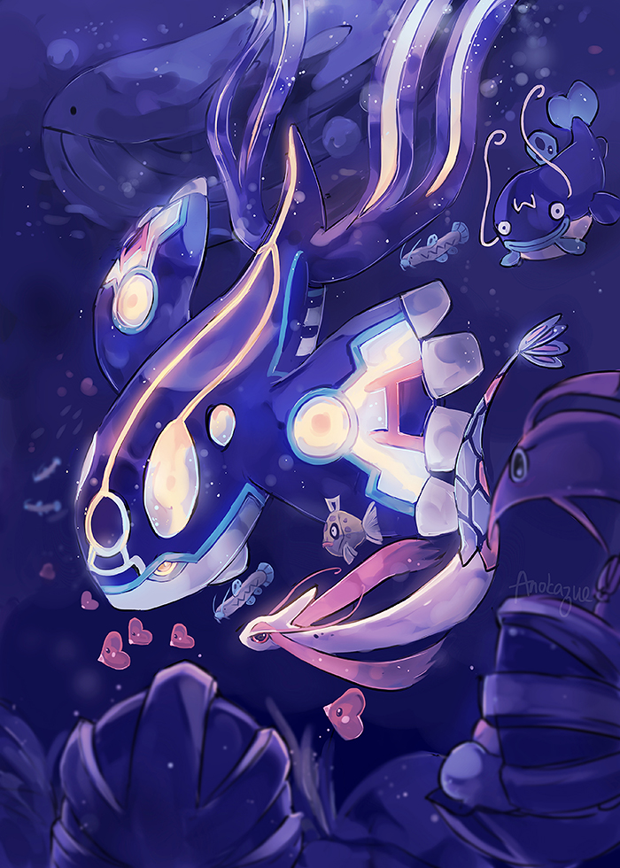 Kyogre by anokazue