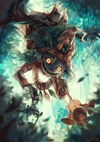 Skull kid by anocurry