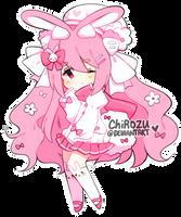 ADOPTABLE | Pink Bunny - CLOSED by Ichirozu