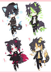 Kemonomimi batch - (4/4) - OPEN