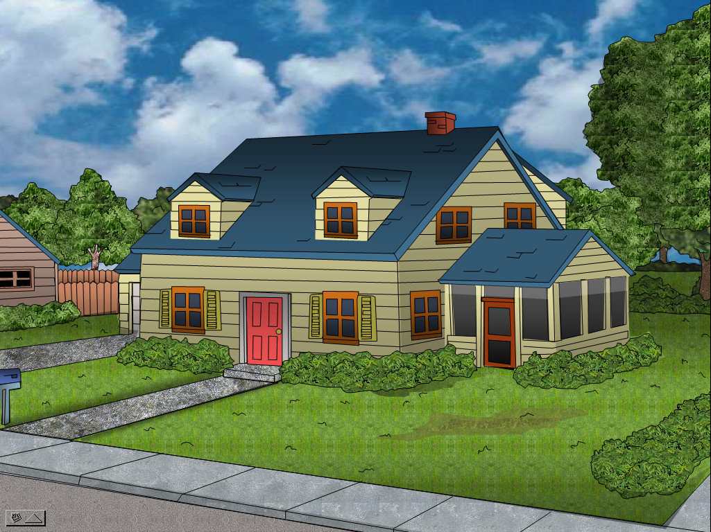 Textured Family Guy House By Dunemoonbeam3 On Deviantart