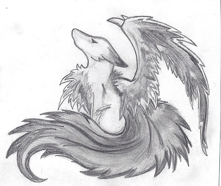 Dark fox by whttkrktrs on deviantart for Cool fox drawings