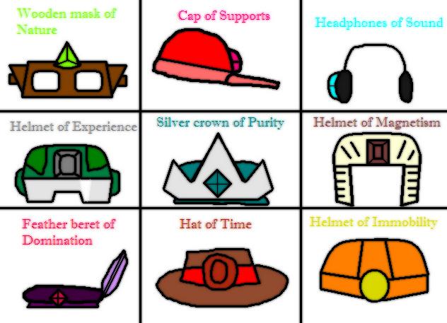 Magical hats by AskTheGreySkull
