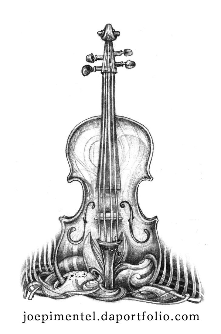 Violin by dehydrated1
