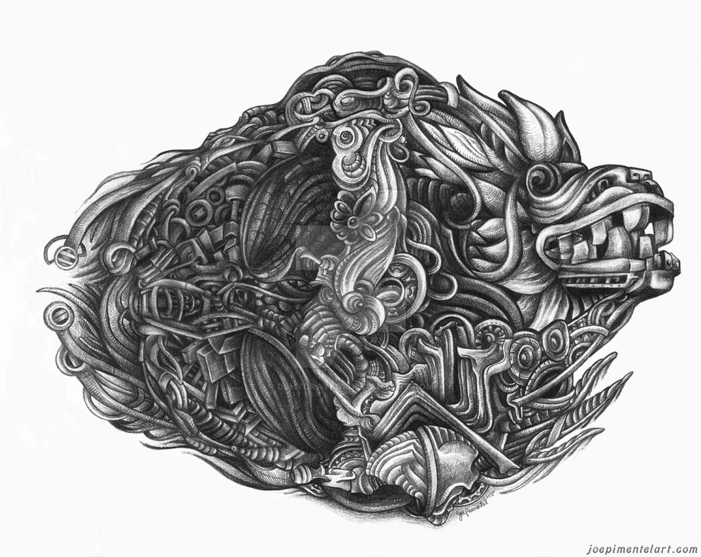 quetzalcoatl aztec drawing - photo #19