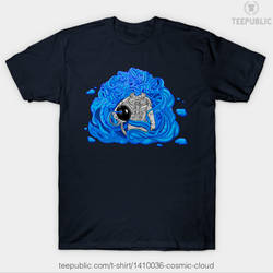 Cosmic Cloud T Shirt by dehydrated1