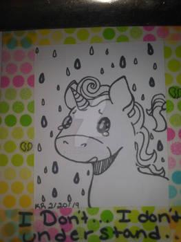 I'm a depressed unicorn prince