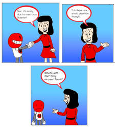 Skeeter Meets Veronica by mannysmyname