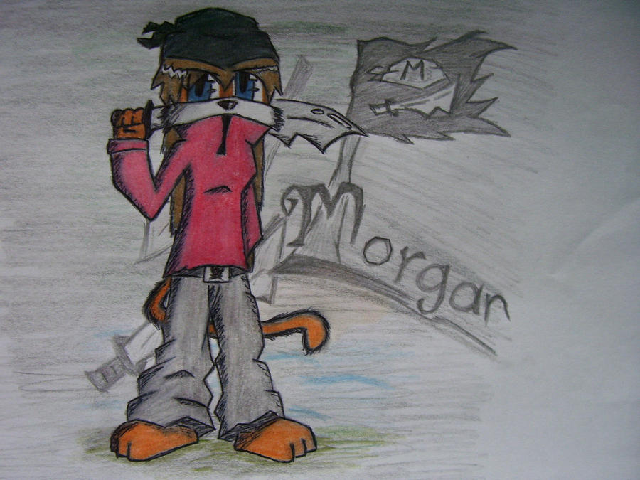 Morgan the Pirate by bestlim10