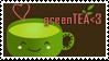 greenTEA stamp