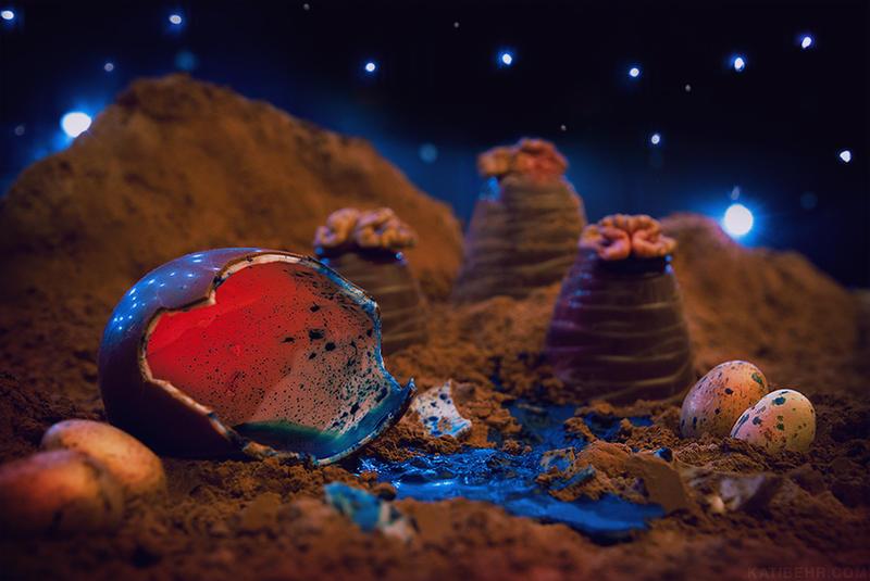 Life on Mars (Foodscape) by KatiBear