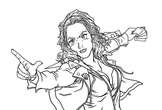 MC Duelist Commission WIP Preview