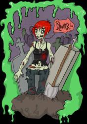Zombie cream by EvilCreampuff