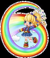 Rainbow Brite by Cupkik