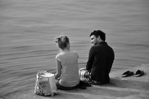 By the Shore by varunabhiram
