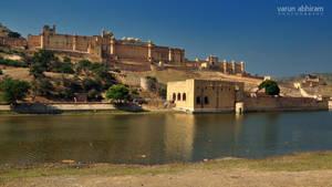 Amer Palace by varunabhiram