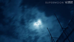 Supermoon by varunabhiram