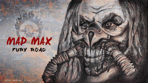 Mad Max: Fury Road - Immortan Joe by varunabhiram