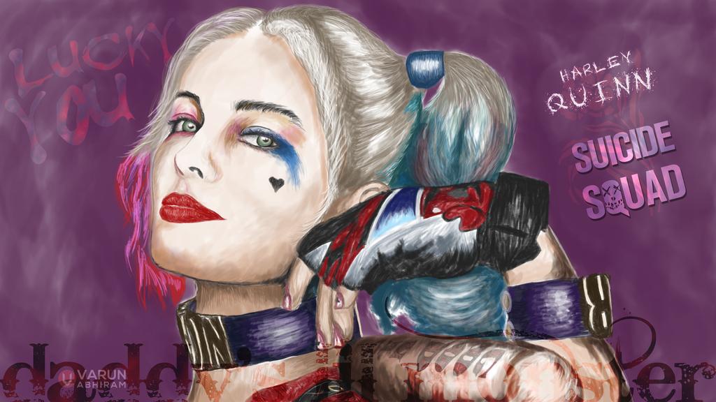 Harley Quinn - Suicide Squad by varunabhiram