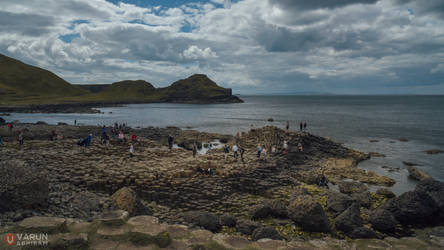 The Giant's Causeway by varunabhiram