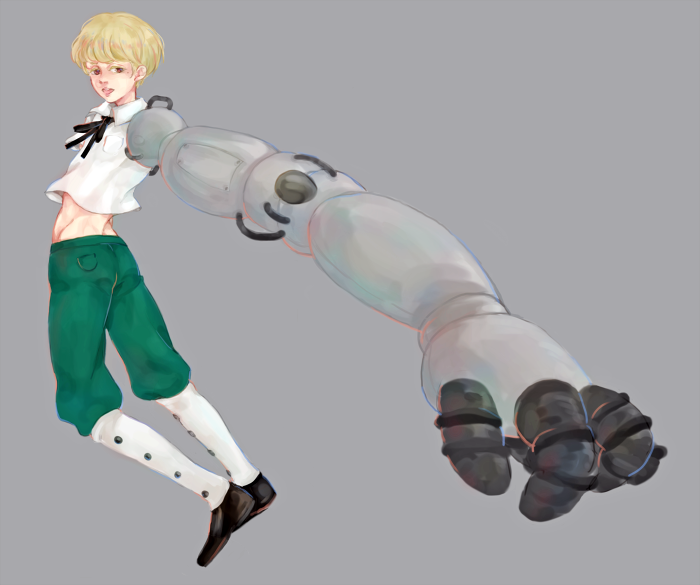 Cyborg by hisusu