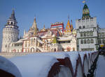 Ismailovo kremlin in Moscow