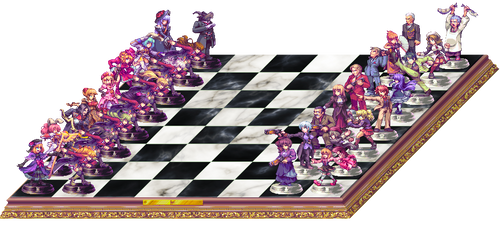 Chessboard of the Golden Witch