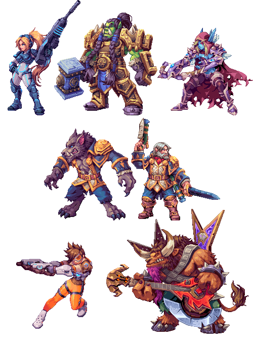 Heroes of the Storm by AbyssWolf