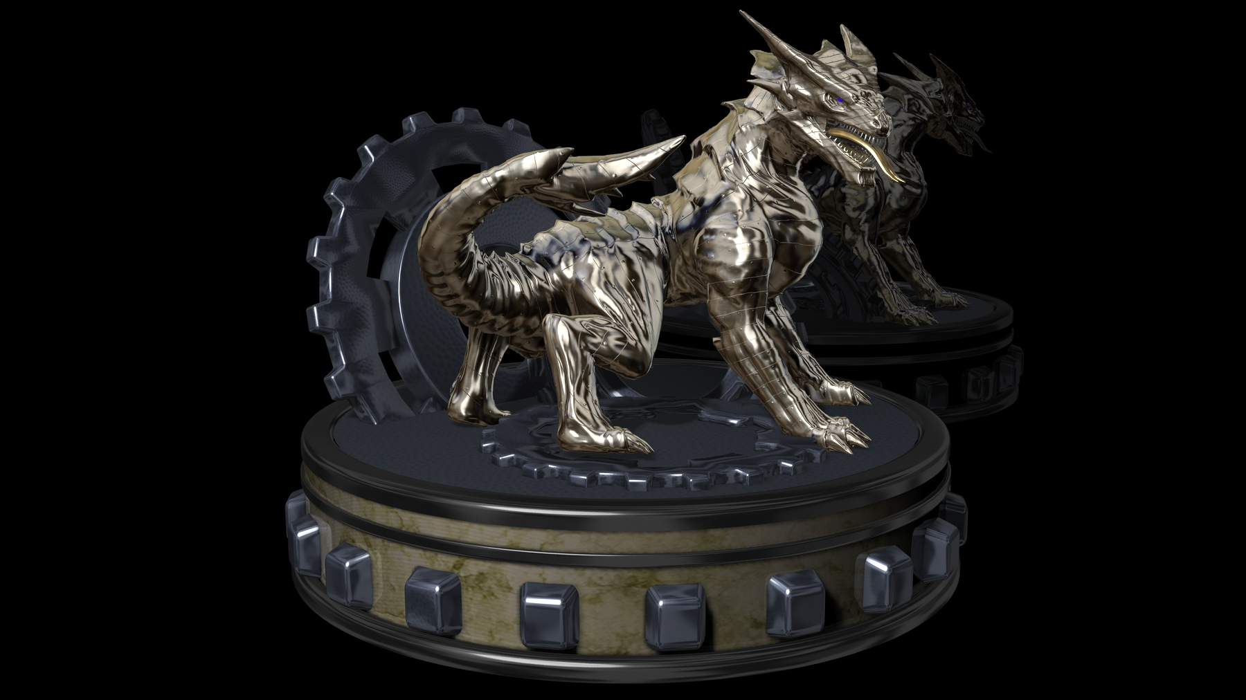 Metal Dragon WP by Hoppitty