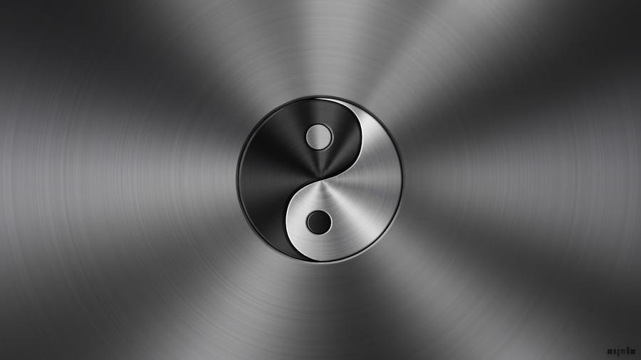 Yin Yang metal by apbaron