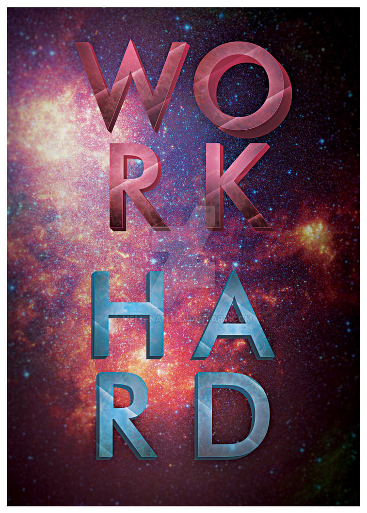 Work Hard by Hell-Nan