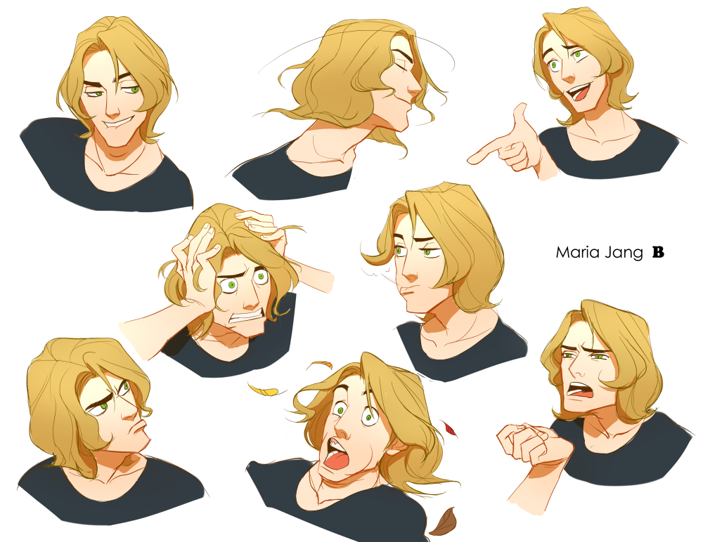 Character Design Expression : Character expressions by mariajang on deviantart