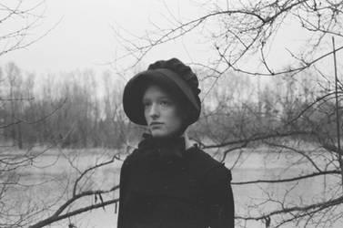the amish girl at the lake