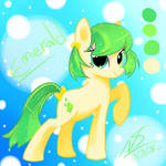 MLP:OC  Emerald by NekoSparker