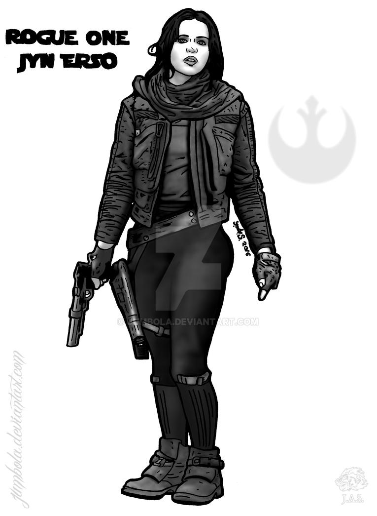 Rogue One Jyn Erso By Jumbola On Deviantart
