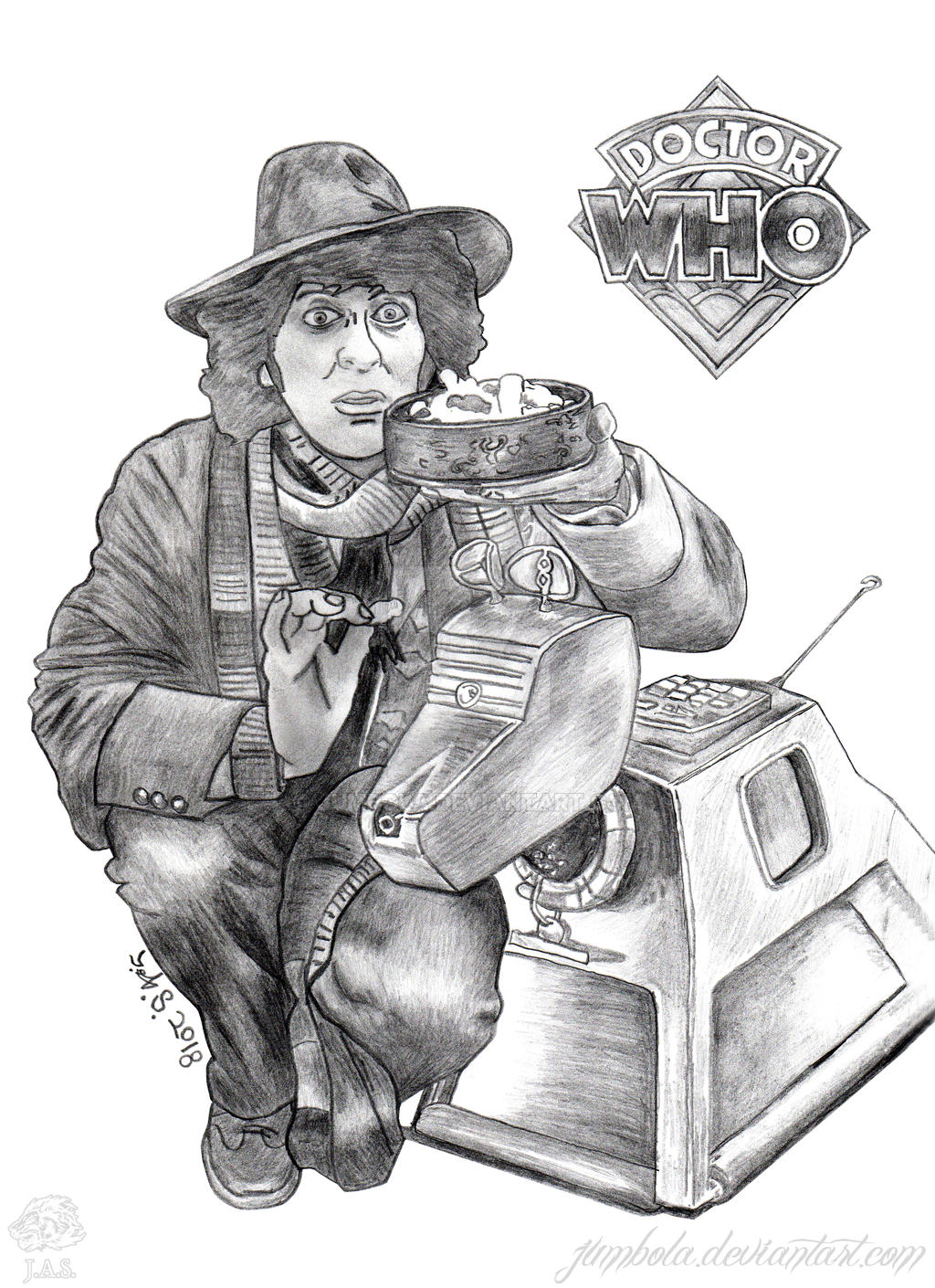 Fourth Doctor Who And K9